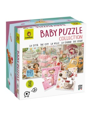 Baby Puzzle The City - La...