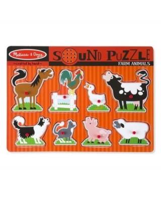Puzzle Sonoro Animali della...