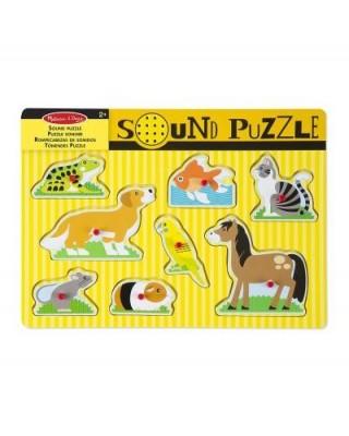 Puzzle Sonori Animali Da...