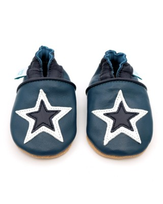 Ciabattine Navy & White Star