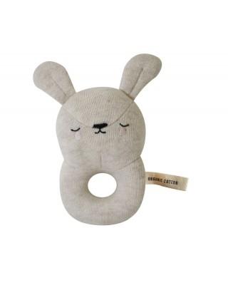 Sonaglio Baby Rattle Eef Bunny